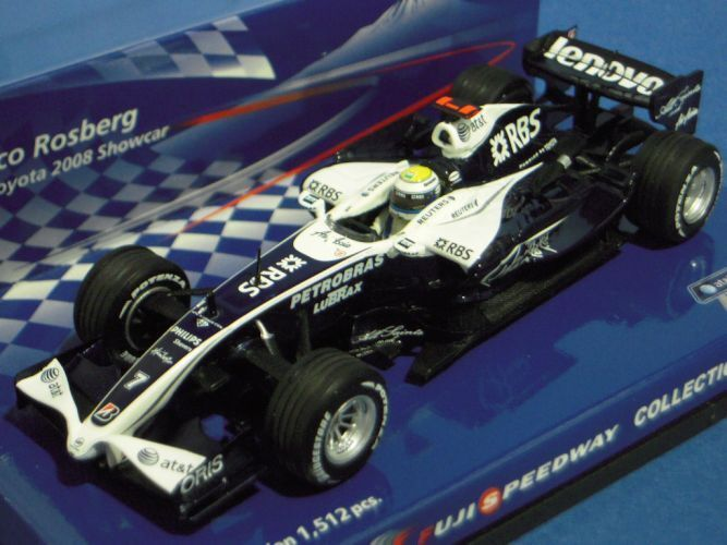MINICHAMPS 1 43 WILLIAMS TOYOTA 2008 CAR Rosberg Fuji Speedway collection