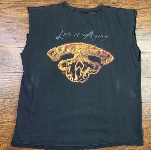 Vintage 90s Life Of Agony Shirt XL black PP