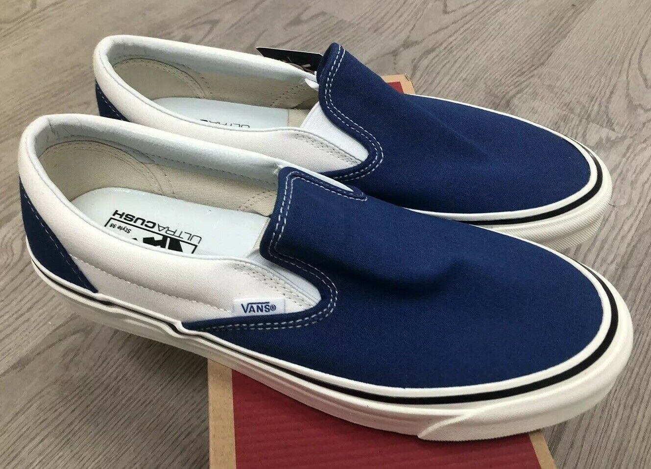 Vans without laces classic 9 Anaheim Factory og azul Talla 11 nib