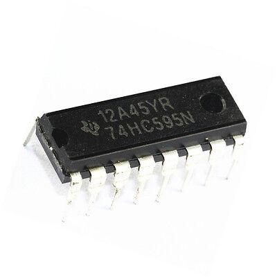 10PCS IC 74HC595 74595 SN74HC595N 8-Bit Shift Register DIP-16 NEW GOOD QUALITY