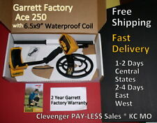 Ace 250 Garrett Metal Detector Free Shipping Fast Delivery