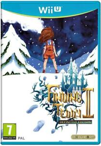 Finding-Teddy-II-Definitive-Edition-Wii-U-Just-Limited-neuf-sous-blister