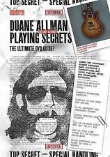 Mundo De Guitarra -- Duane Allman jugando secretos: el DVD de guía definitiva, Dvd por..