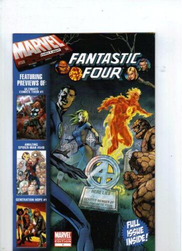 Fantastic Four # 1 Comic Book Lot New York Comic Con 2010 NYCC 2010