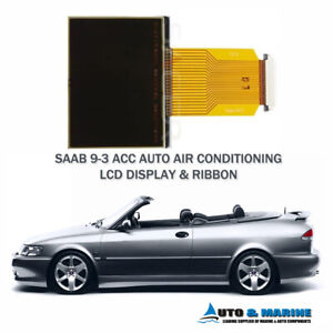 SAAB 9-3 93 LCD DISPLAY SCREEN ACC Auto Climate Control  .NEW. Shipped from UK..