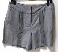 Neiman Marcus Sachin + Babin Linen Rufina Dress Shorts Sz 6