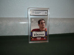 CHRISTIAN-PONDER-2011-TOPPS-RISING-ROOKIES-GRADED-GEM-MINT-10-ROOKIE-Vikings