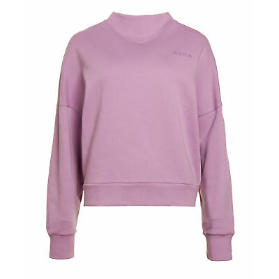 New Womens Superdry The Manhattan Crew Amethyst