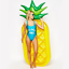 Durable-Inflatable-Pineapple-Pool-Float-Swimming-Raft-Floatie-Lounge-Party-Toys