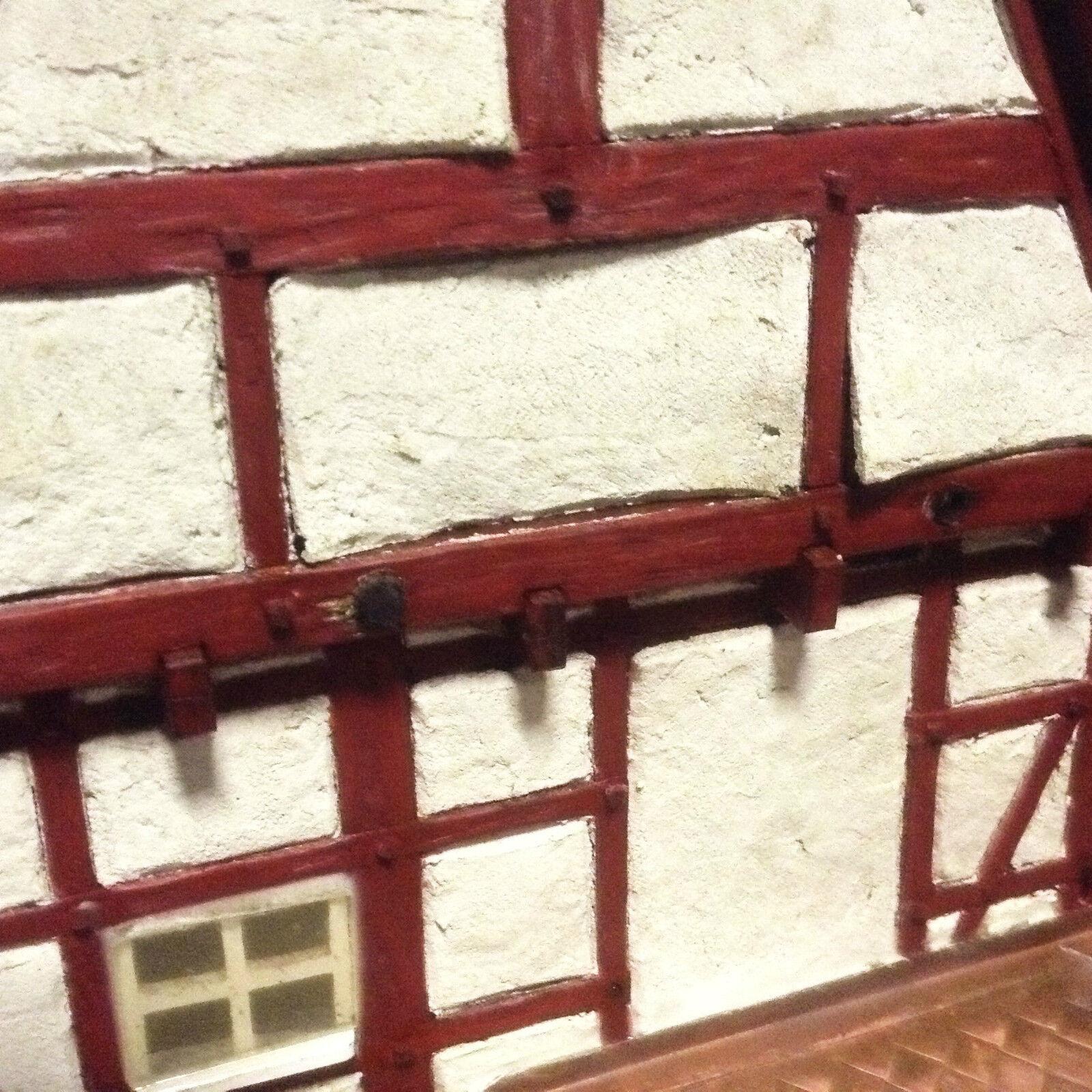 Marklin traccia 1 Modello Ferrovia LGB reticolare antico antico antico Museo casa Zimmermann LEGNO MODELLO 23ae5d