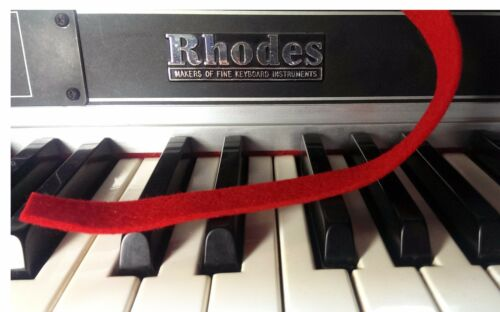 Nameboard /& Backrail Felt for Rhodes and Piano 88 Keys Thick Best Quality
