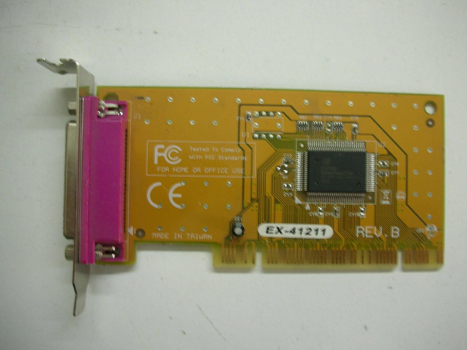 EXSYS EX-41211-S REV.B Low Profile IEEE 1284 PCI GRA 40