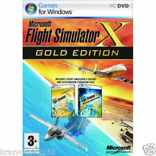 Microsoft Flight Simulator X Deluxe Gold Edition with Acceleration Pack - PC DVD