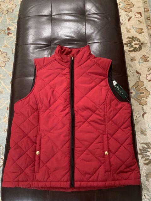 Polo Ralph Lauren Women's Puffer Vest XL Red | eBay