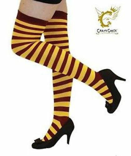 Le ragazze OTK A Righe A Righe a righe sopra il ginocchio coscia alta calze lunghe 32 colore 4-6