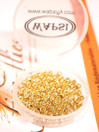 Tungsten Beads 2,3 mm Wapsi 10 Stück GOLD