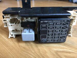 1991-1994 mercury capri main fuse box (under dash) oem | ebay  ebay