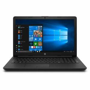 HP 4XX97EA#ABU 15-db0990na 1TB Laptop AMD A9 Series 4 GB Full HD Jet Black 15.6