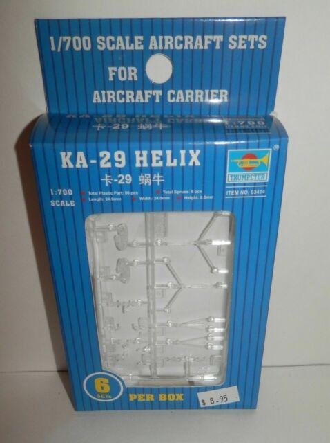 Trumpeter 1:700 KA-31 Helix Russian Helicopter Set Model Kit