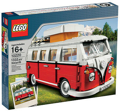 RARE LEGO VW VOLKSWAGEN 1962 T1 CAMPER VAN 10220 BRAND NEW SEALED