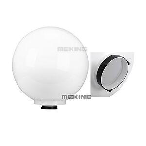"16"" 40cm Studio Soft Globe White Diffuser for Strobe w/Bowens Mount speedring"
