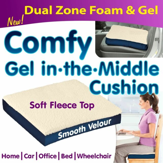 Forever Comfy Cushion As Seen On Tv Comfortable Gel Pad Seat Pillow