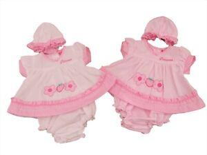 with Tags Tiny Premature Preemie Baby Girls Pink Princess Dress Cardigan Socks