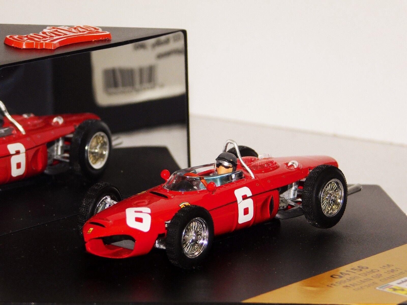 FERRARI DINO 156 GINTHER ITALIAN GP 1961 QUARTZO Q4156 1 43