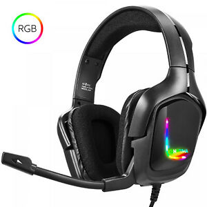 NEW-HD-Gaming-Headset-Headphones-for-PS4-Xbox-one-Nintendo-Switch-2-PACKS