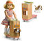 thumbnail 7 - American Girl KIT DOLL SCOOTER + DOG Basset Hound 'Grace' Pet Puppy Molly Emily