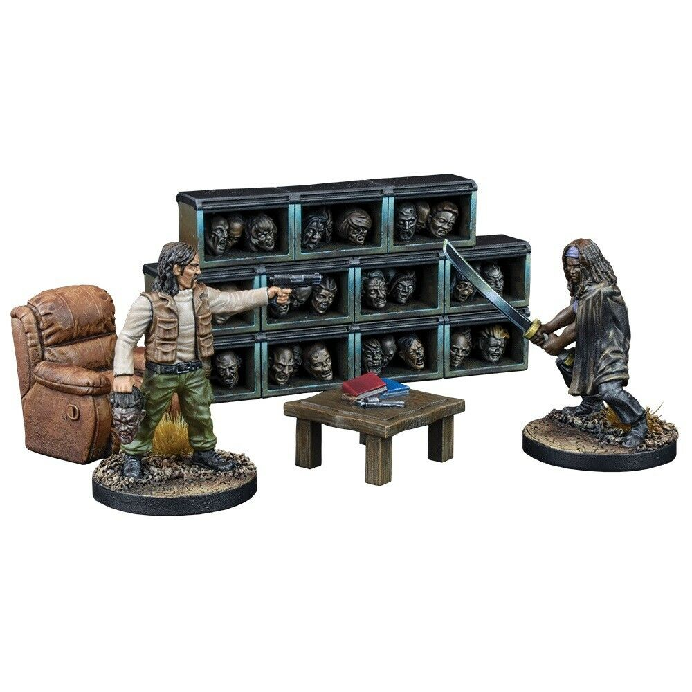 Governor's Trophy Room Collector's The Walking Dead All Out War Miniatures Game