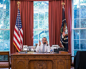 obama oval office desk. Image Is Loading President-Barack-Obama-Sitting-Desk-Oval-Office-Photo- Obama Oval Office Desk