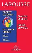 Diccionario Pocket Inglés Español  Spanish English (Spanish Edition), , Good Boo