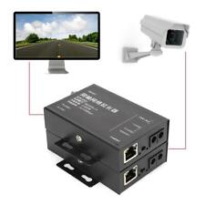 Ethernet IP Extender Over Coax Kit Coaxial Cable CCTV Camera