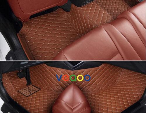 6 Colors Car Floor Mats for Hyundai Equus 4 Seat 2009-2016 Waterproof 3D Carpets