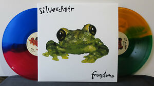SILVERCHAIR-039-Frogstomp-039-Ltd-Edition-SPLIT-COLOUR-amp-ETCHED-Vinyl-2LP-NEW-SEALED