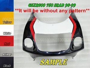 ABS Front Head Upper Top Fairing for Suzuki SRAD GSXR 750 600 96 00 33#G