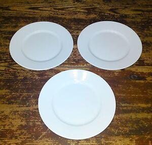 Image is loading Group-2-Ikea-365-Susan-Pryke-Set-of- & Group #2 - Ikea 365+ Susan Pryke Set of 3 Salad Plates 16597 White ...