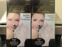 Dermatological Cotton Gloves 2 Pair
