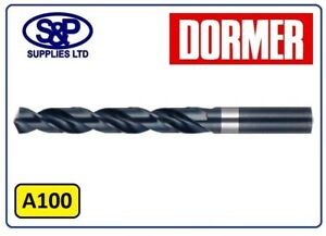 DORMER-HSS-JOBBER-DRILL-BITS-FOR-STEEL-METAL-FROM-3-1MM-TO-5-0MM-METRIC-A100