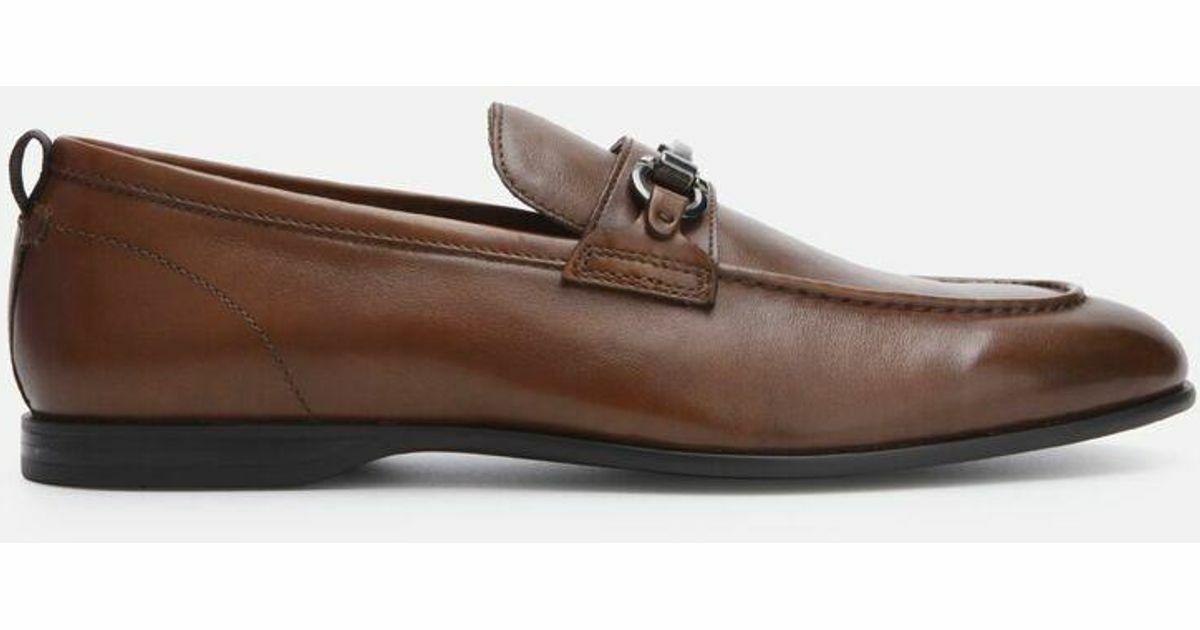 Kenneth Cole New York Men's Nolan Bit Loafer, Cognac-Size 12M