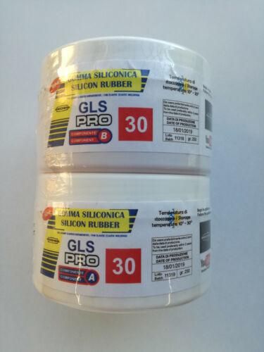 Gomma siliconica GLS-PRO 30 Prochima stampi elastici antiaderenti 500 GR