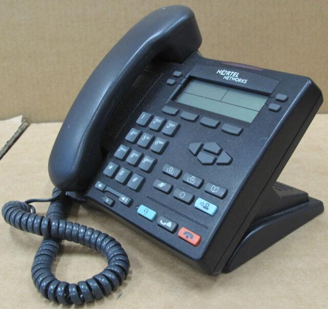 Nortel Networks IP Phone i2002 desktop Telephone NTDU91 - Black NTU91AA70