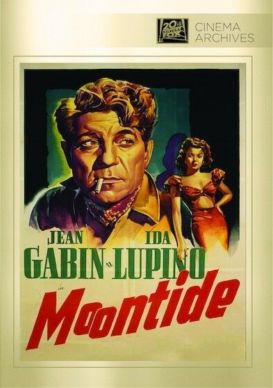 Moontide 1942 (DVD) Jean Gabin, Ida Lupino, Thomas Mitchell, Claude Rains - New