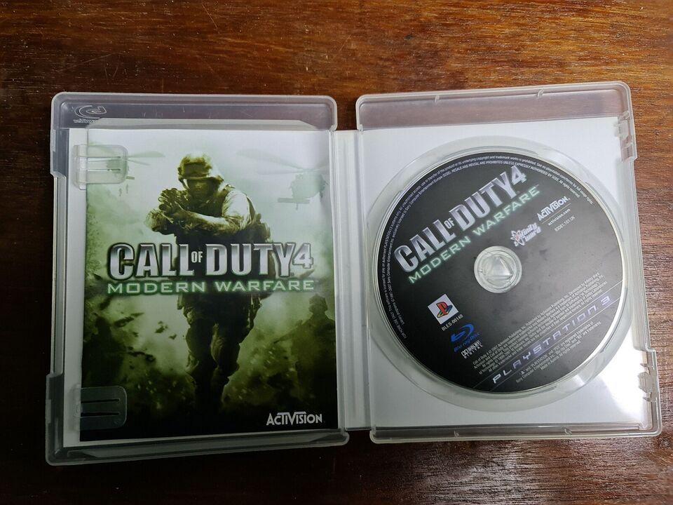 Call of duty 4 modern warfare, PS3