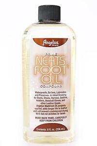 Angelus-Prime-Neats-Foot-Neatsfoot-Oil-Liquid-Compound-Leather-Waterproof-8-oz