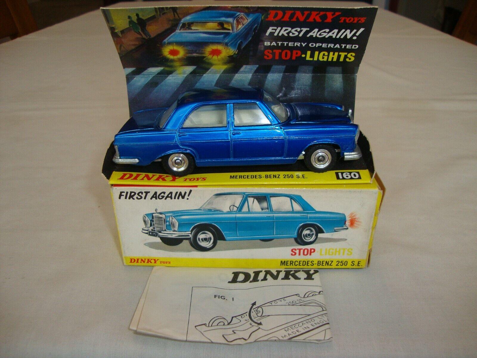 Dinky 160  MERCEDES-BENZ 250 SE-Excellent dans boîte d'origine  magasin d'offre