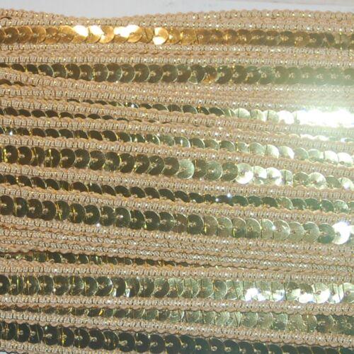 1-3m Pailettenband 13mm Band Sequin Dance glänzend Spitzenband ab 0,93€//M