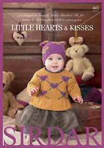 Sirdar-Little-Hearts-amp-Kisses-Snuggly-Baby-Bamboo-DK-Book-443-Patterns-0-7-yrs