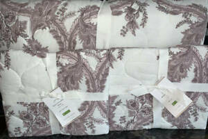 Pottery Barn Shani Reversible Cotton Quilt Coverlet 2
